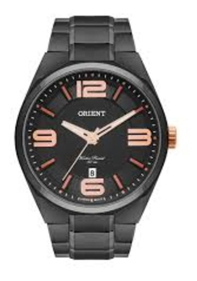 Relógio Orient Masculino Caixa Preta Mpss1003