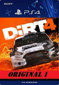 Dirt 4 Ps4 Psn Digital Original 1º Promoção