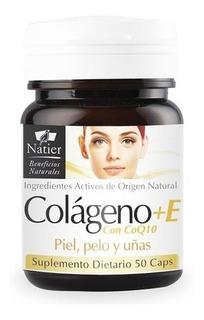 Colageno + Coq10 + Vitamina E - 50 Capsulas