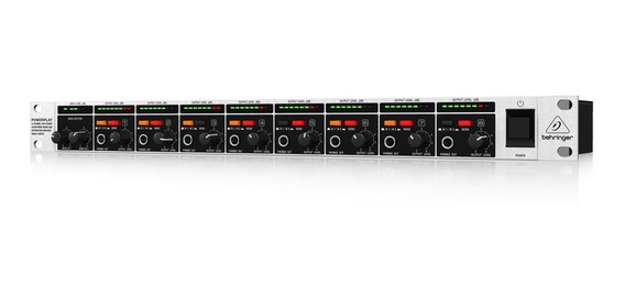 Powerplay Amplificador De Fones De Ouvido Ha8000 Behringer