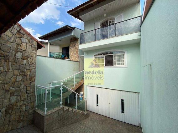 Sobrado Com 4 Dormitórios À Venda, 264 M² Por R$ 1.100.000,00 - City Recanto Anastácio - São Paulo/sp - So2810