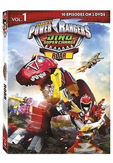 Dvd : Power Rangers Dino Super Charge: Roar (dvd)