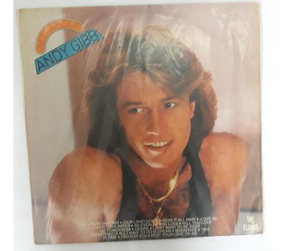 Lp Andy Gibb 1983 All About, Disco De Vinil