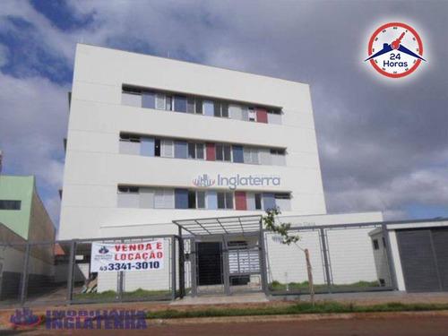 Imagem 1 de 17 de Apartamento Para Alugar, 46 M² Por R$ 750,00/mês - Jardim Piza - Londrina/pr - Ap0380