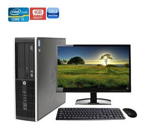 Computador Completo Hp 8200 Sff Core I5-2400 4gb Hd 500gb