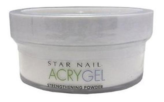 Pó Acrygel Uv Star Nail Clear 45g Acrílico Alongamento Unha