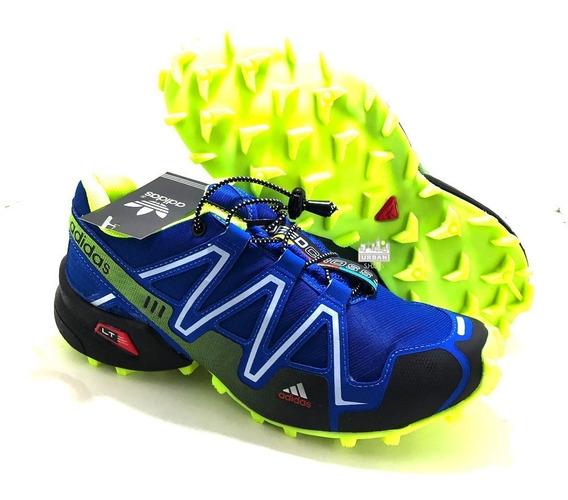 Tênis Speedcross 3 4 Trava Caminhada Corrida Promoção Treino