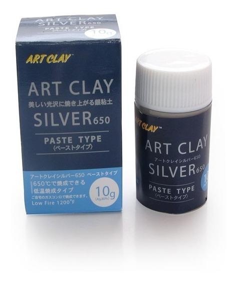 Crema De Plata Art Clay 10 Gr