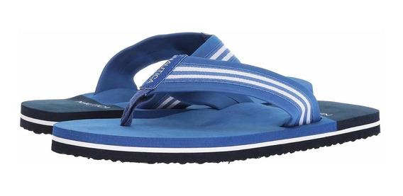 Nautica Torstein Blue Sandalias Caballero 25 Mex