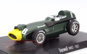 Stirling Moss - F1 - Vanwall Vw57 - Não É Senna