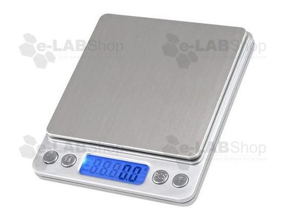 Balança Digital Alta Precisão 0,01g A 500g C/ Nf