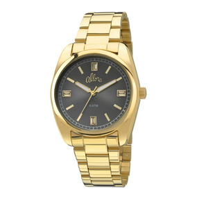 Relógio Allora Dourado Novo Masculino Al2035fao/k4c Nfe