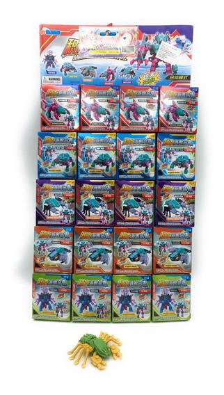 Planilla Con 20 Cajitas De Juguetes Armables Transformers