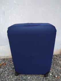 Capa Para Mala Tamanho Médio Azul Polo King
