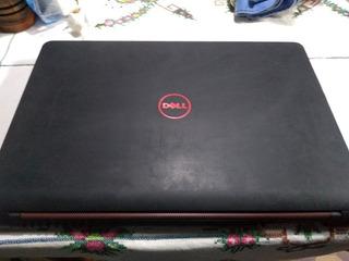 Notebook Dell Gamer Letal Letras Rojas Fondo