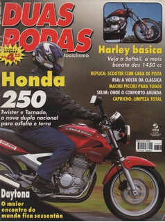 Duas Rodas N°307 Honda Cbx Twister Xr Tornado Harley Softail