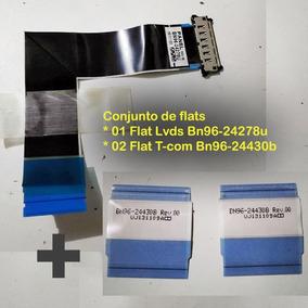 Conjunto De Flats - Lvds Bn96-24278u E T-com Bn96-244b