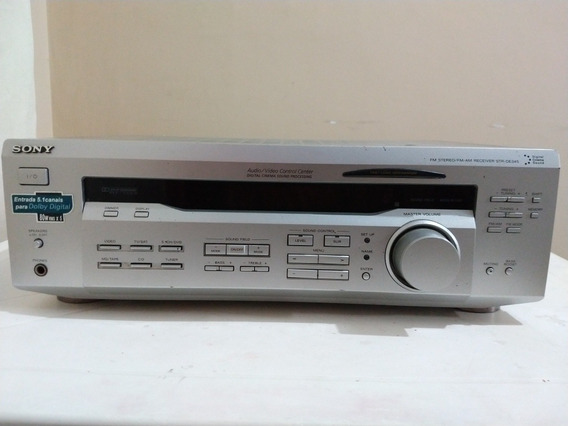 Receiver Sony Str-de 345