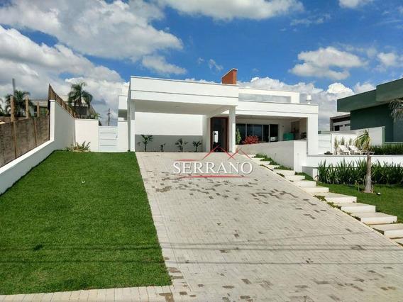Casa Com 3 Dormitórios À Venda, 278 M² Por R$ 1.690.000,00 - Condomínio Campo De Toscana - Vinhedo/sp - Ca0633