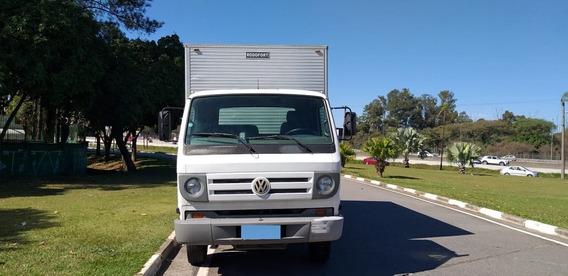 Vw 8.150 Delivery Plus 2011 Bau Alumínio C/ Plataforma