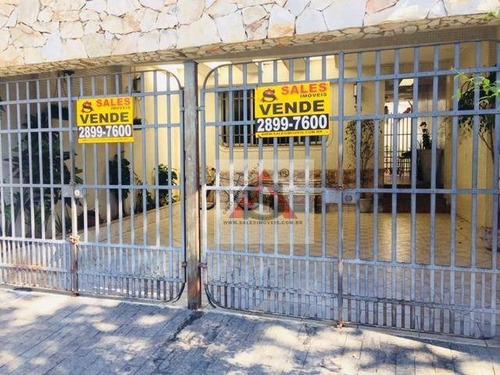 Sobrado Com 3 Dormitórios À Venda, 139 M² Por R$ 850.000,00 - Vila Firmiano Pinto - São Paulo/sp - So4080