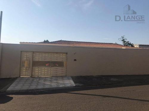 Excelente Casa À Venda No Jardim Esplanada/ademar De Barros - Campinas/sp - Ca11377