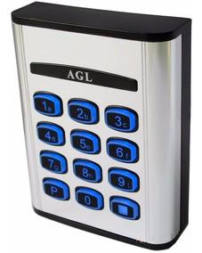 Controle De Acesso 25 Senhas Agl Com Teclado Luminoso Ca25/s