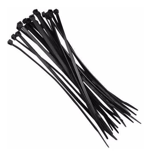 Abraçadeira Plástica 1,3 X 4,9 X 280 Mm Preta Nylon 1000pcs
