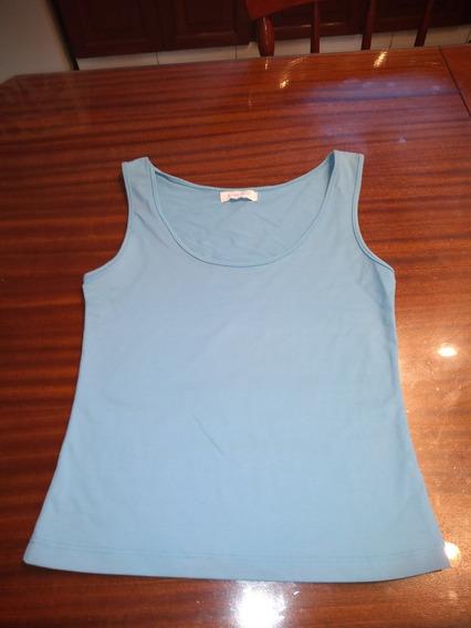 Musculosa Zara Knit Clasica Talle S,