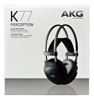 Akg K77 Auricular Estudio Grabación Músico Precio Outlet Box