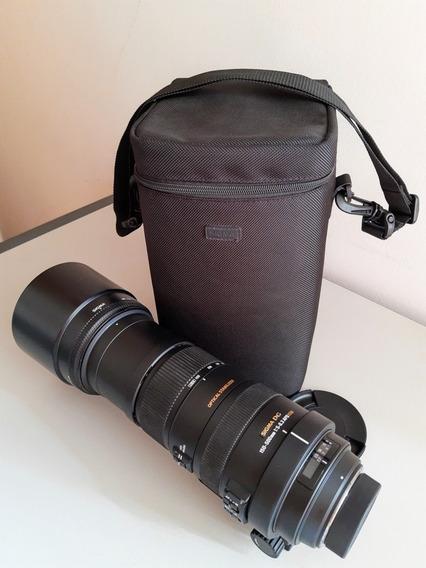 Lente Sigma 150-500mm 5.6-6.3 Dg Apo Hsm Os Nikon