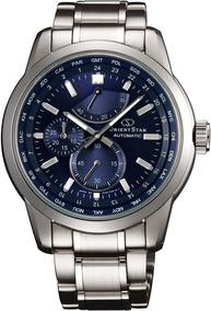 Relógio Automático Orient Sjc00002d0 Importado Visor Azul
