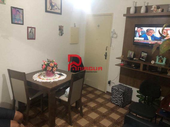 Apartamento, Vila Valença, São Vicente - R$ 180 Mil, Cod: 648 - V648
