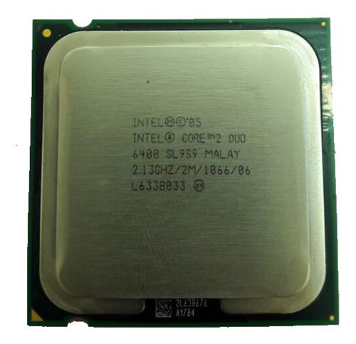 Processador Intel Core 2 Duo E6400 2.13ghz 2mb 1066  775 ¨