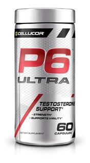 P6 Ultra Testosterone Support 60 Cap Cellucor