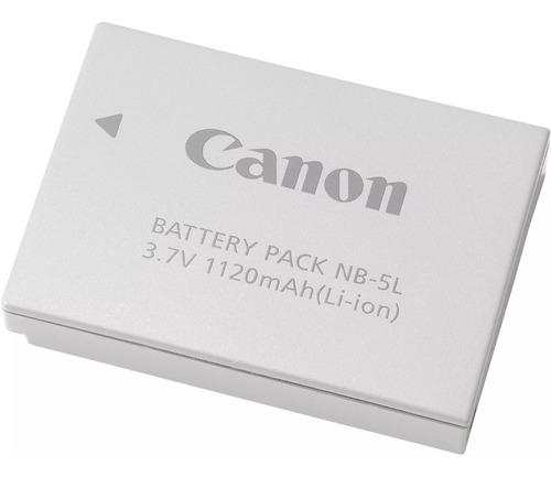 Imagem 1 de 5 de Bateria Original Canon Nb-5l 1120mah P/ Câmeras Powershot