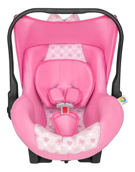Bebê Conforto Tutti Baby Nino Retrátil P/crianças 13 Kg Rosa