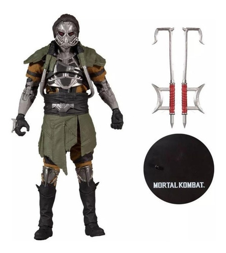Imagen 1 de 3 de Kabal Mortal Kombat Xi Mcfarlane Toys