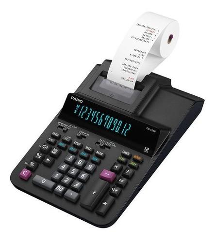 Calculadora Casio Impresión Dr-120r-bk