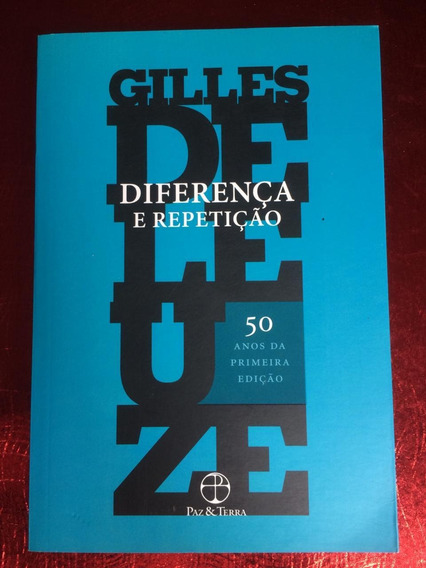 Diferença E Repetição - Gilles Deleuze