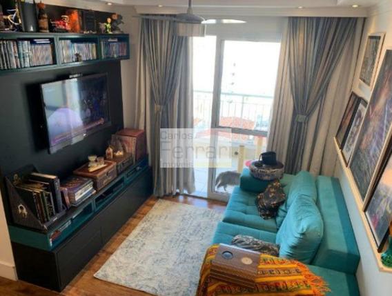 Lindo Apto 3 Dormitórios ,suite E Varanda - Parada Inglesa - Cf22553