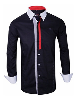 Camisas Entalladas Slim Fit Hombre- Quality Import Usa
