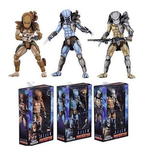 Pack Alien Vs Predator: Predators Arcade Edition Neca