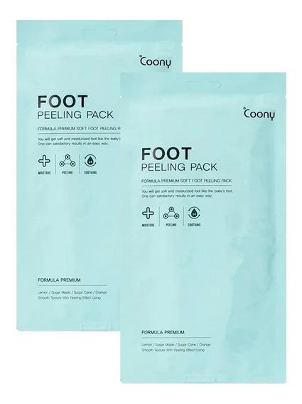 Mascarilla Coony Peeling Pack Formula Pies Renovados X2