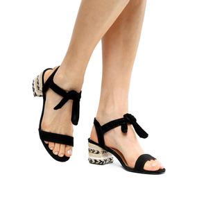 0d15722dc8 Sandália Natural De Couro Shoestock - Sandálias para Feminino Preto ...