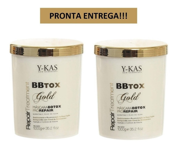 Ykas Botox Gold Repair 2 Unidades + Brinde + Frete!!!