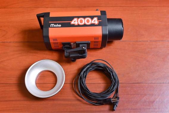 Oportunidade! Flash Mako 4004, Softbox Mako 60x80
