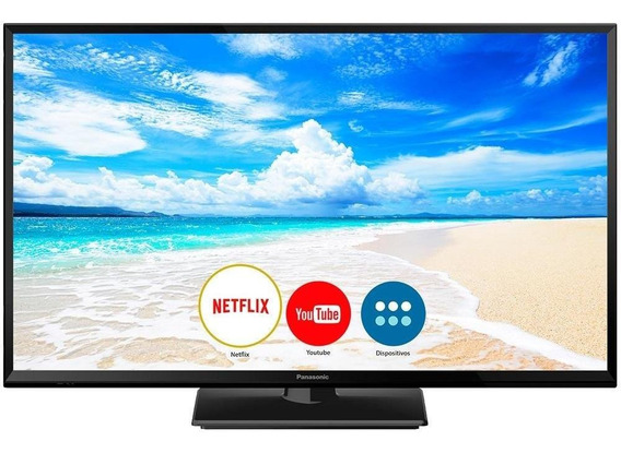 Smart Tv Led 32 Panasonic Tc-32fs600b Hd Com Wi-fi, 1 Usb, 2 Hdmi, Hexa Chroma, My Home Screen Ultra Vivid E 60hz