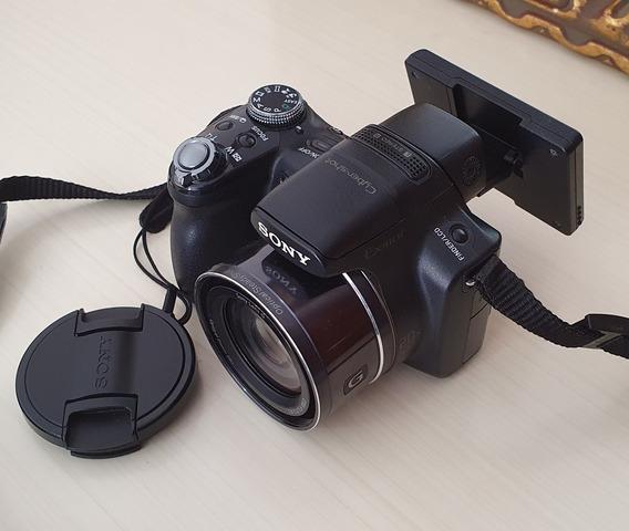 Câmera Sony Dsc Hx1 Perfeita Sem Cabos + Cartão 2gb
