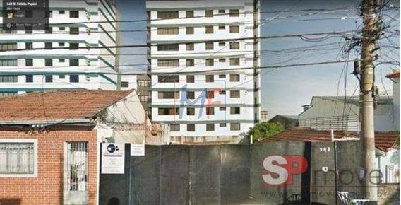 Ref: 11.066 Ótimo Terreno Com 200 M², Bairro Vila Prudente, Excelente Localização, Apenas 700 M² Do Metro. Estuda Proposta E Permuta. - 11066